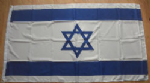 Israel Large Country Flag - 3' x 2'.